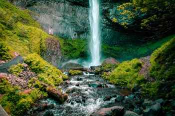 cascade creek environment falls