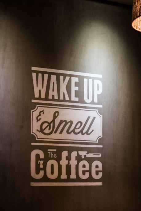 wake up smell the coffee wall decoratio